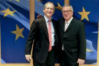 Visit of Anthony Luzzatto Gardner, Head of the Mission of the United States to the EU, to the EC