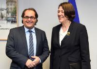 Visite de Marek Gróbarczyk, ministre polonais des Transports maritimes et fluviaux, à la CE