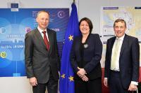 Visite du Markus Borchert, président de DigitalEurope, à la CE