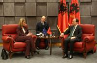 Visit by Federica Mogherini, Vice-President of the EC, to Albania