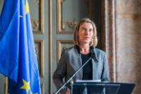 Joint press conference by Federica Mogherini, Vice-President of the EC, and Staffan de Mistura, Special Envoy of the United Nations for Syria