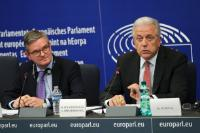 Joint press conference by Dimitris Avramopoulos and Julian King, Members of the EC, on the 12th relocation and resettlement progress report and on the 7th Security Union progress report