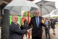 Visite de Phil Hogan, membre de la CE, en Suède