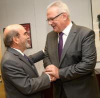 Visite de José Graziano da Silva, directeur général de la FAO, à la CE