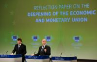 Press conference on the conclusions of the weekly meeting of the EC College by Valdis Dombrovskis, Vice-President of the EC, and Pierre Moscovici, Member of the EC