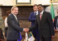 Visit by Johannes Hahn, Member of the EC, to Algeria