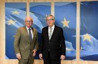 Visite de Wolfgang Ischinger, président de la Conférence de Munich sur la sécurité, à la CE.