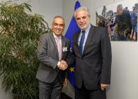 Visit of Rodrigo Rivera Salazar, Colombia's peace commissioner, to the EC