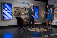 Live interview of Jean-Claude Juncker, President of the EC, for YouTube and Euronews