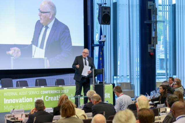 Participation of Frans Timmermans, First Vice-President of the EC, in the Internal Audit Service 2017 Conference