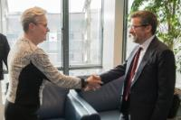 Visit of  Karin Röding, Swedish State Secretary for Higher Education and Research, to the EC