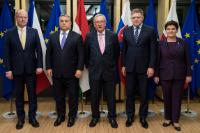 Visit of Prime Ministers of the Visegrád Group, to the EC