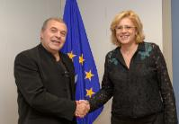 Visit of Constantin Chiriac, Director General of 'Radu Stanca' National Theatre of Sibiu, to the EC