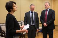 Remise des médailles de 20 ans de fonction publique européenne à la DG EMPL