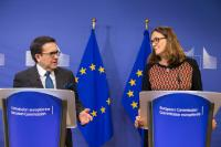 Joint statement by Cecilia Malmström, Member of the EC, and Ildefonso Guajardo Villarreal, Mexican Secretary for Economy
