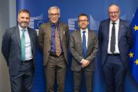 Visit of  Gunnar Bovim, Rector of the Norwegian University of Science and Technology (NTNU) , to the EC