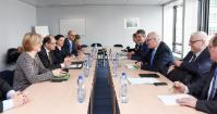 Visit of German Ministry for Food and Agriculture, to the EC