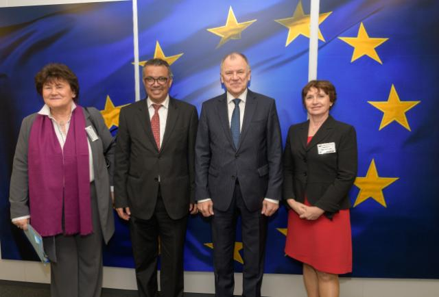 Visit of Tedros Adhanom, Director General of the World Health Organisation (WHO), to the EC