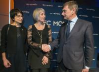 Visite de Andrus Ansip, vice-président de la CE et Marianne Thyssen, membre de la CE, au Canada