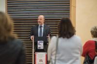 Participation de Pierre Moscovici, membre de la CE, à la cérémonie 'Lunettes sans frontières'