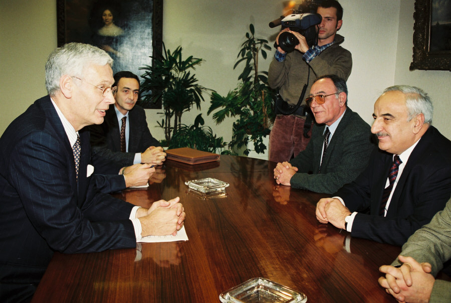Visit by Abid Sharifov, Azerbaijani Deputy Prime Minister, to the EC