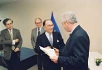 Presentation of the European Journalism Prize 1997 by Marcelino Oreja, Member of the EC