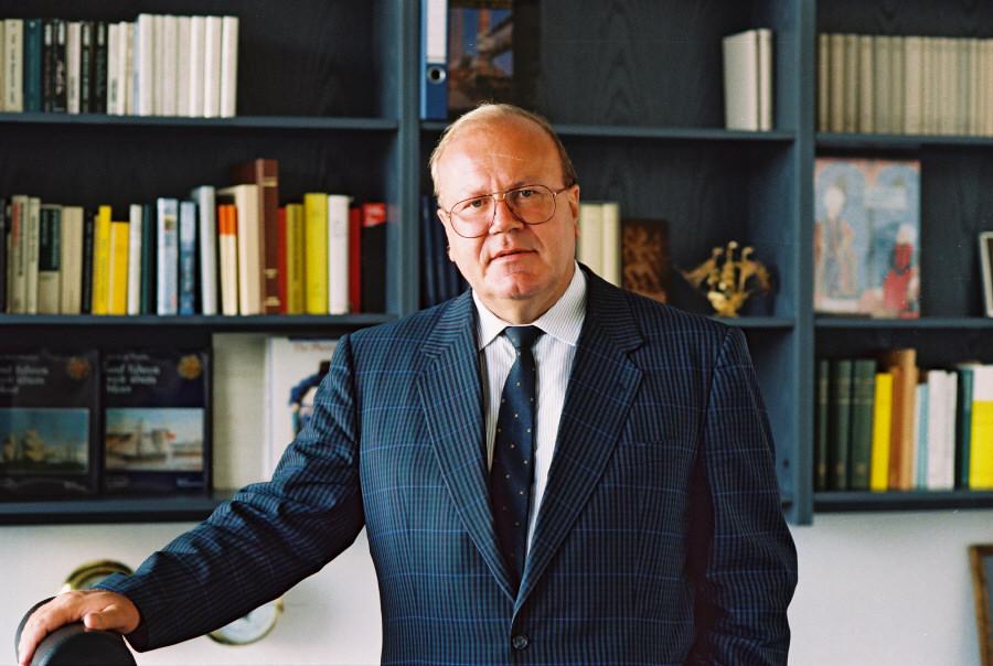 Martin Bangemann, vice-président de la CCE