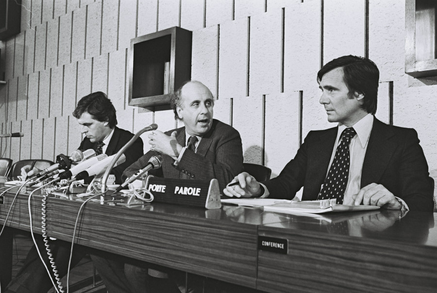 Press Conference of Etienne Davignon, Member of the CEC