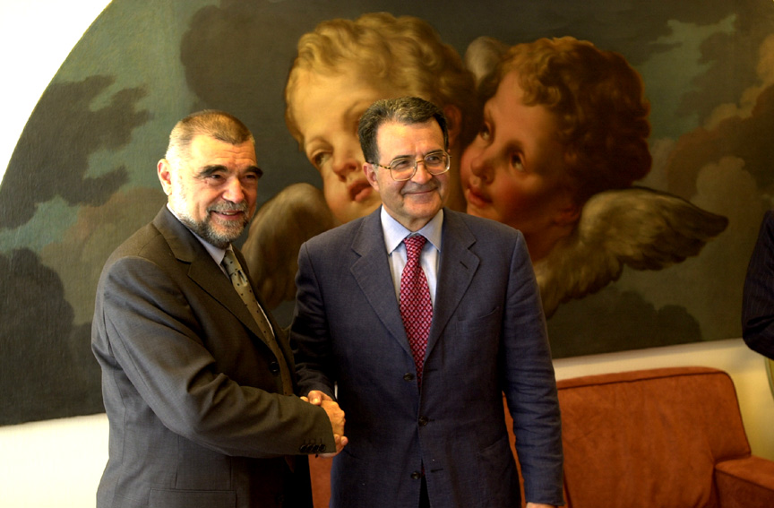 Visit of Stjepan Mesić, President of Croatia, to the European Commission