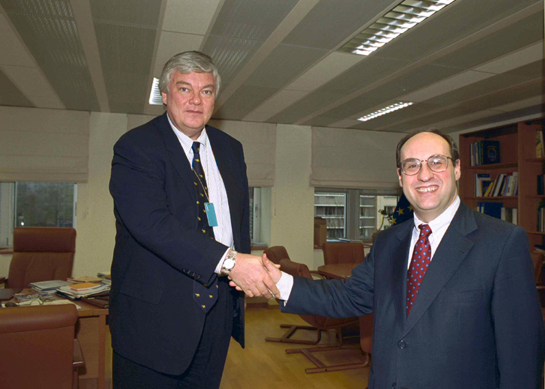 Visit of Bodo Hombach, Coordinator of the Stability Pact for South-Eastern Europe, to the EC