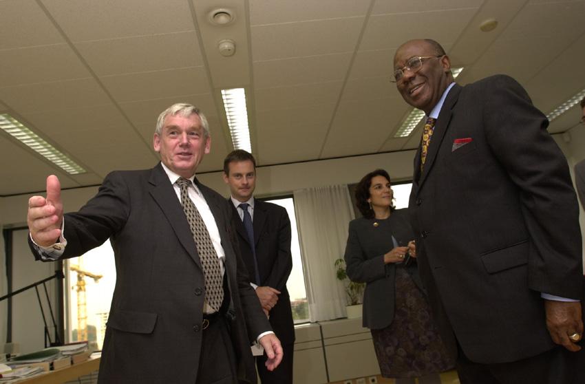 Visit of Ahmad Tejan Kabbah, President of Sierra Leone, to the EC