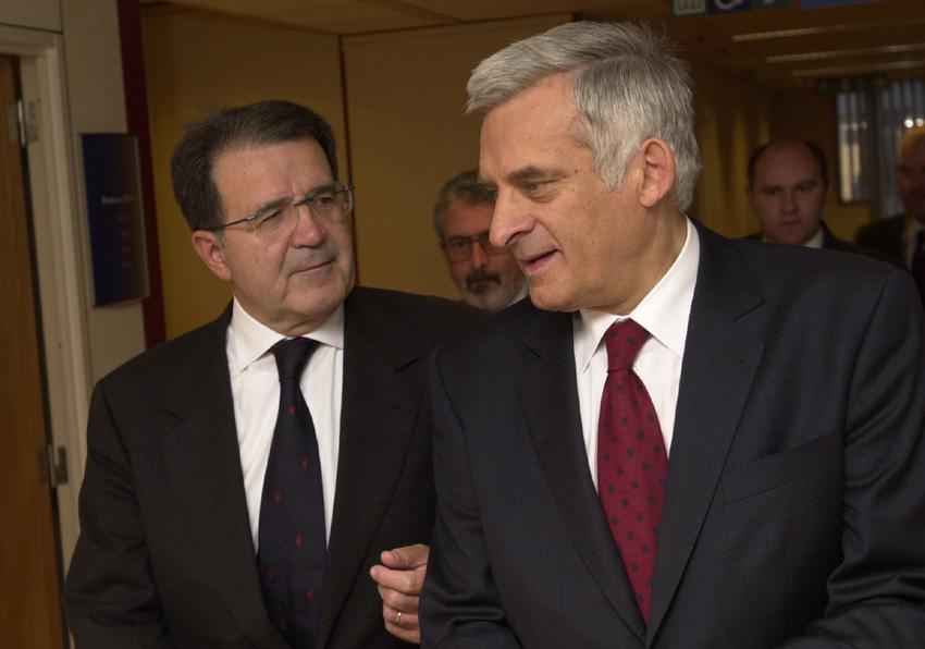 Visite de Jerzy Buzek, Premier ministre polonais, à la CE
