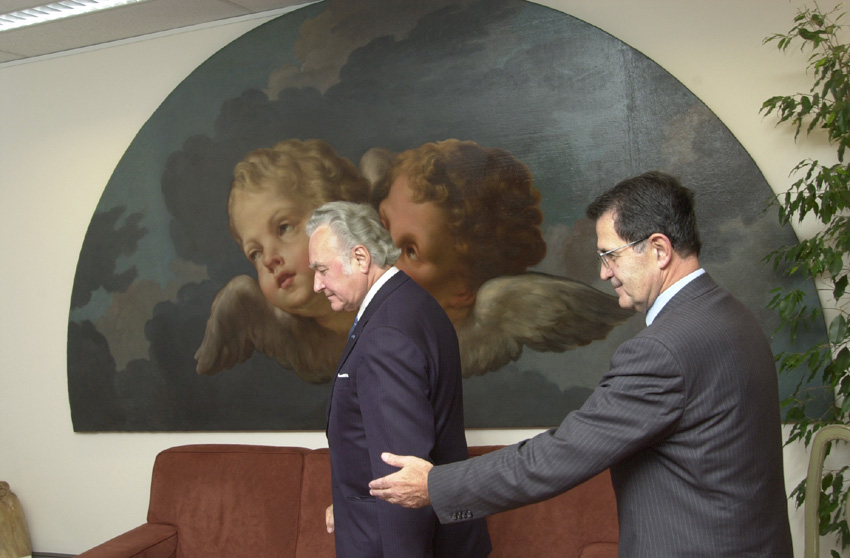 Visite d'Arnold Rüütel, président de l'Estonie, à la CE
