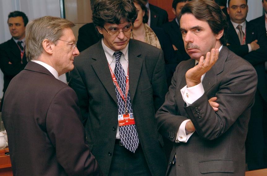 Conseil européen de Bruxelles et Conférence intergouvernementale, 12-13/12/2003