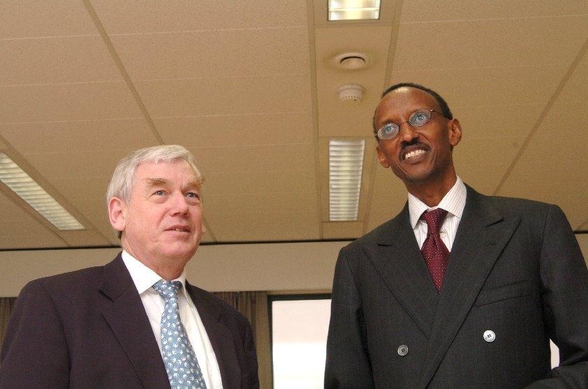 Visit of Paul Kagame, President of Rwanda, to the EC
