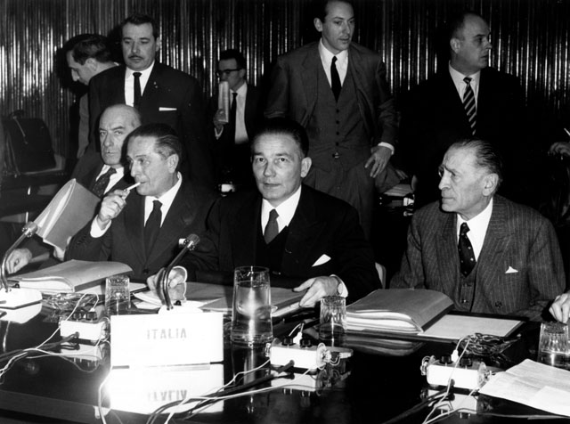 Council of the Ministers: Second agricultural marathon, meeting of 14/12/1964
