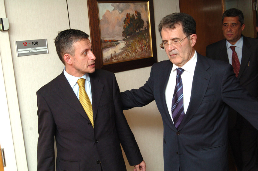 Visit of Solomon Passy, Bulgarian Minister for Foreign Affairs, to the EC