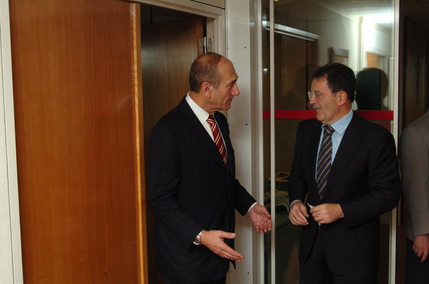 Visit of Ehud Olmert, Israeli Deputy Prime Minister, to the EC
