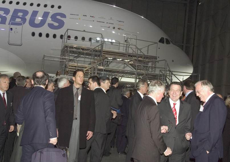 Official presentation of the Airbus A380