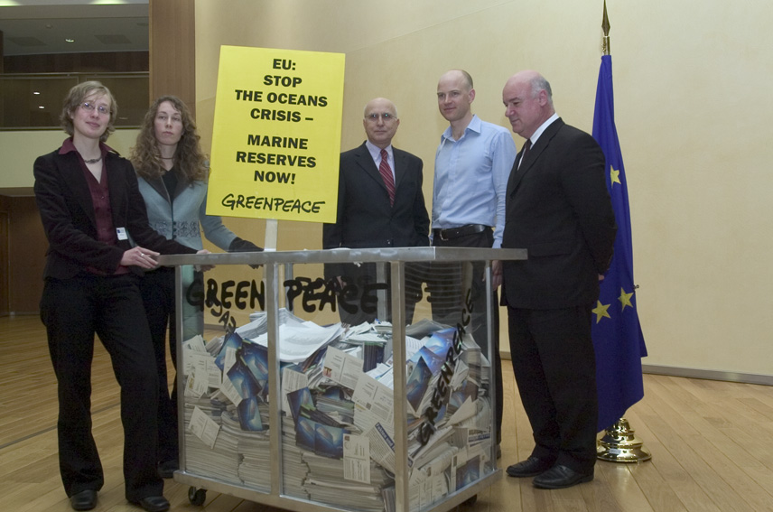 Visit of representatives from Greenpeace to the EC