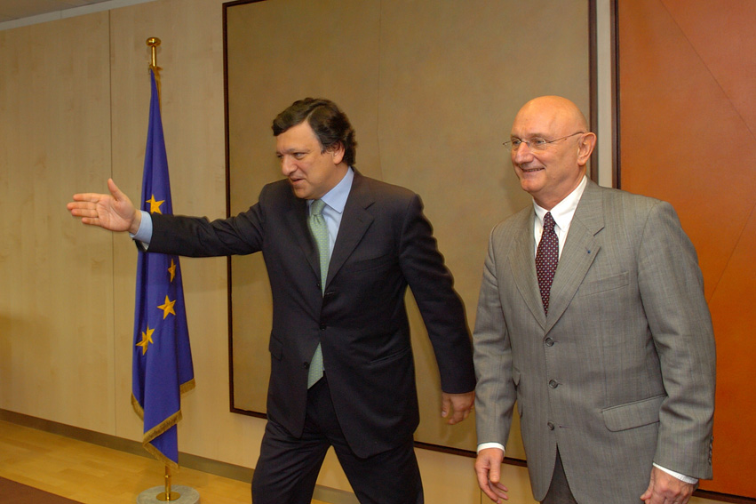 Visit of Jean-Claude Baumgarten, President of the World Travel and Tourism Council, to the EC
