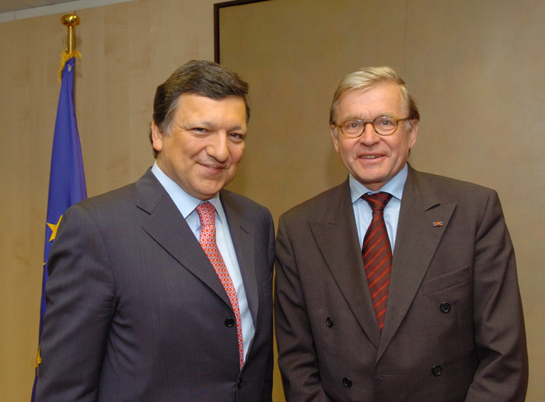 Visit of René van der Linden, President of the Parliamentary Assembly of the Council of Europe, to the EC