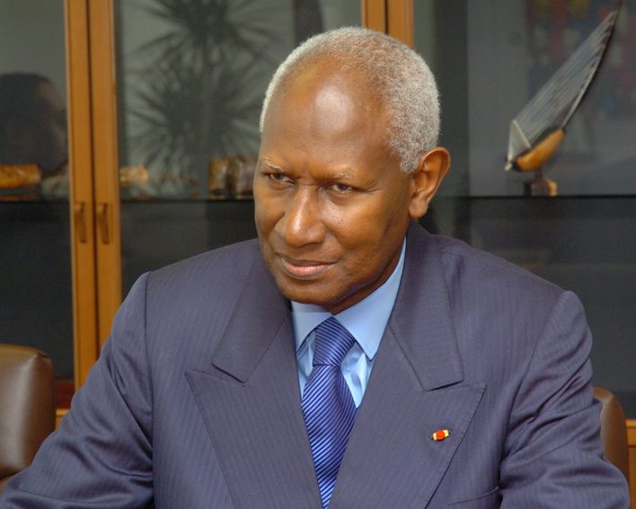 Visit of Abdou Diouf, Secretary General of the