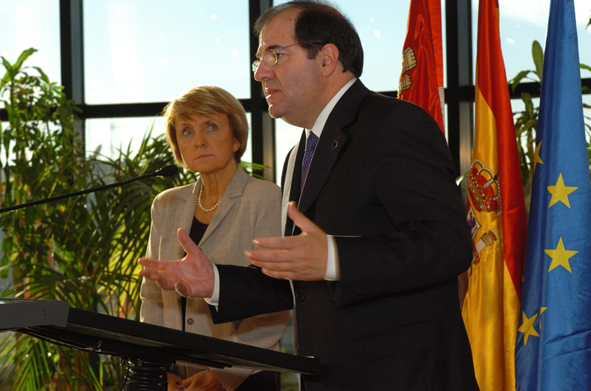 Visit of Danuta Hübner, Member of the EC, to Spain