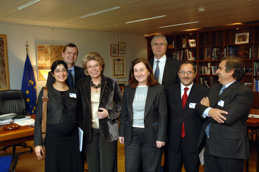 Visit by a delegation of the European Satellite Operators Association to the EC