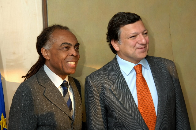 Visit by Gilberto Gil, Brazilian Minister for Culture, to the EC