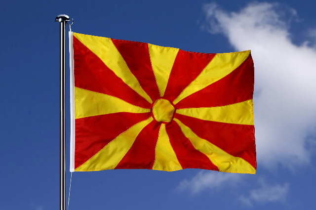 Flag of the former Yugoslav Republic of Macedonia
