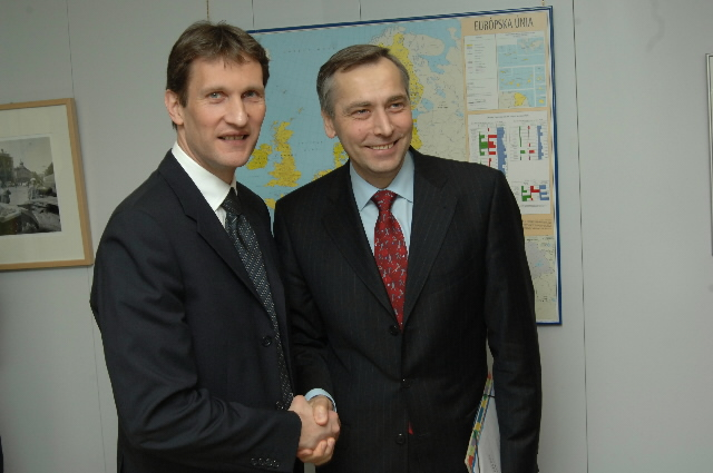Visit by Slobodan Vuksanovic, Serbian Minister for Education and Sport, to the EC