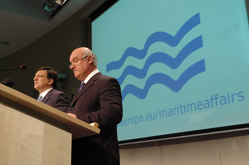 "Press conference on the Green Paper:""Towards a future Maritime Policy for the Union: A European vision for the oceans and seas"""