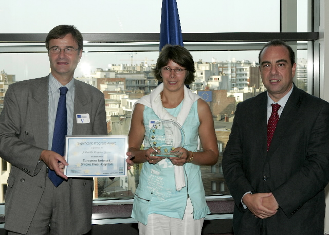 Launch of the awards for the best 'European tobacco free hospitals' by Markos Kyprianou, Member of the EC